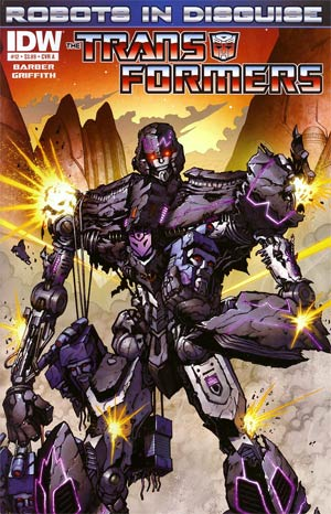Transformers Robots In Disguise #12 Regular Cover A Andrew Griffith