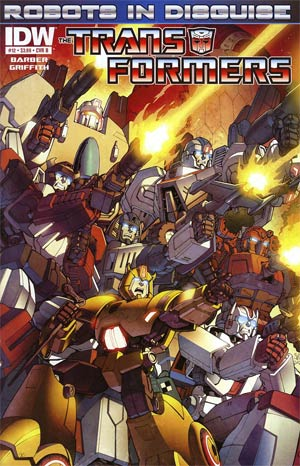 Transformers Robots In Disguise #12 Regular Cover B Casey Coller