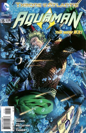 Aquaman Vol 5 #15 Incentive Jim Lee Throne Of Atlantis Variant Cover (Throne Of Atlantis Part 2)