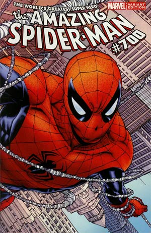 Amazing Spider-Man Vol 2 #700 Incentive Joe Quesada Variant Cover