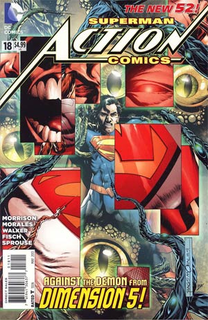 Action Comics Vol 2 #18 Regular Rags Morales Cover