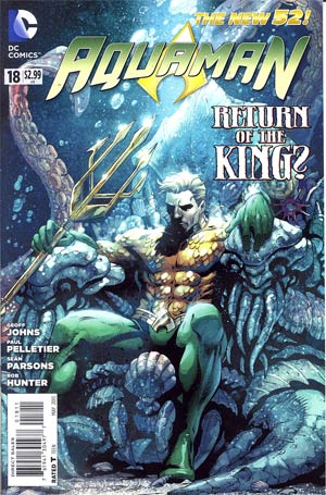 Aquaman Vol 5 #18 Regular Paul Pelletier Cover