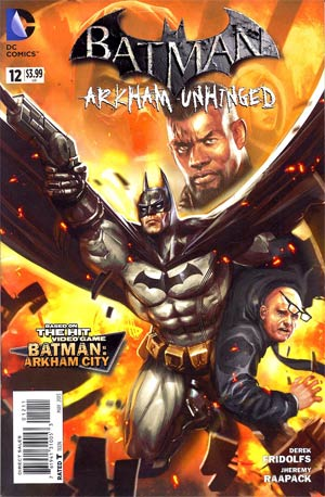 Batman Arkham Unhinged #12