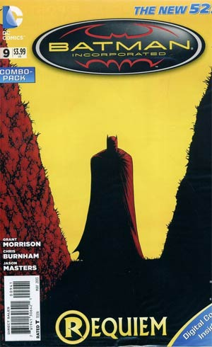 Batman Incorporated Vol 2 #9 Combo Pack With Polybag (Limit 1 Per Customer)