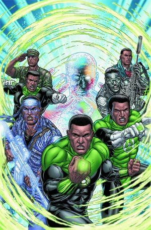 Green Lantern Corps Vol 3 #18 Regular Juan Jose Ryp Cover (Wrath Of The First Lantern Tie-In)