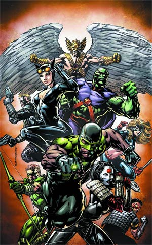 Justice League Of America Vol 3 #2 Regular David Finch Cover