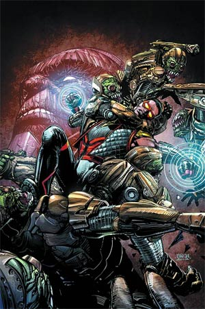 Justice League Of Americas Vibe #2 Regular David Finch Cover
