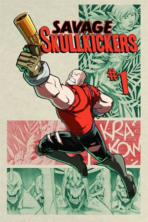 Savage Skullkickers #1 Cover A Edwin Huang & Jim Zub