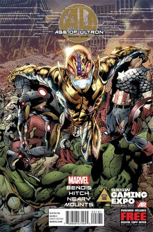 Age Of Ultron #1 Regular Bryan Hitch Foil Cover