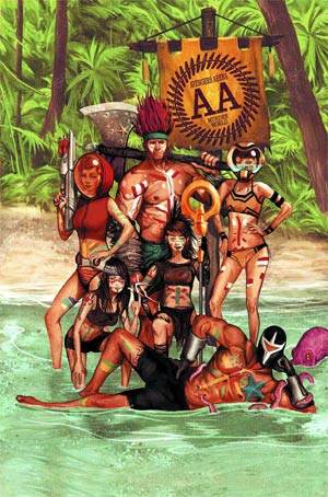 Avengers Arena #6 Regular Michael Del Mundo Cover
