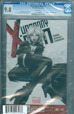 Uncanny X-Men Vol 3 #2 Cover C DF Regular Chris Bachalo Cover CGC 9.8