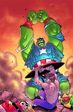Marvel Universe Avengers Earths Mightiest Heroes #12
