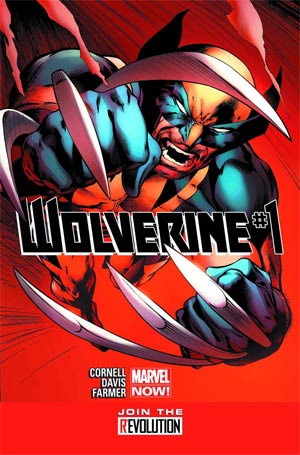 Wolverine Vol 5 #1 Regular Alan Davis Cover