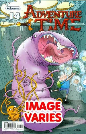 DO NOT USE Adventure Time #14 Regular Cover (Filled Randomly With 1 Of 2 Covers)