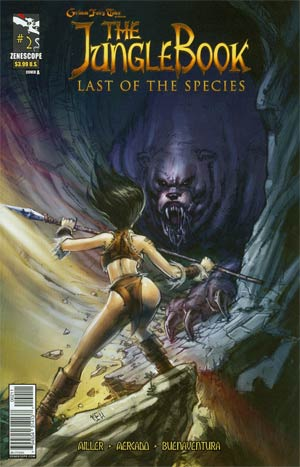 Grimm Fairy Tales Presents Jungle Book Last Of The Species #2 Cover A Keu Cha