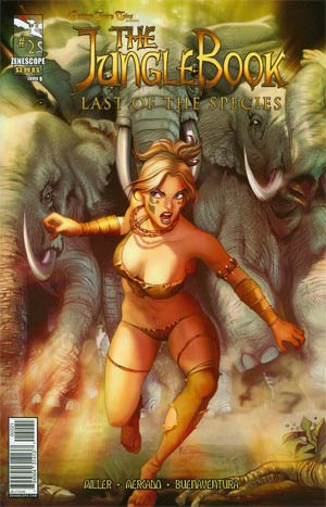 Grimm Fairy Tales Presents Jungle Book Last Of The Species #2 Cover B Ivan Nunes