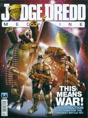 Judge Dredd Megazine #334