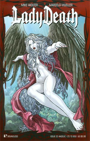 Lady Death Vol 3 #22 Angelic Cover