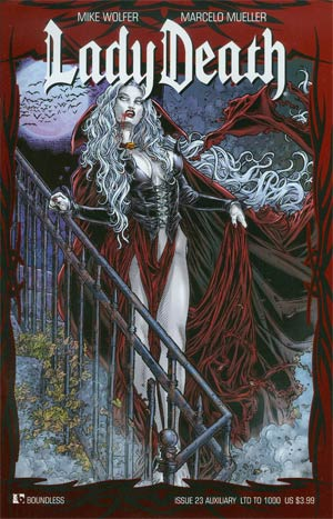 Lady Death Vol 3 #23 Auxiliary Edition