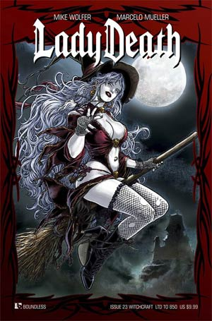 Lady Death Vol 3 #23 Cover G Witchcraft Cover