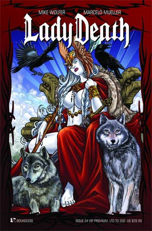 Lady Death Vol 3 #24 VIP Ultra Premium Cover