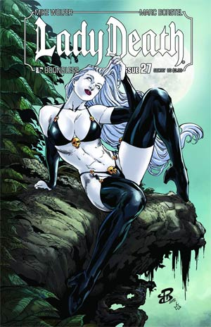 Lady Death Vol 3 #27 Sultry Cover