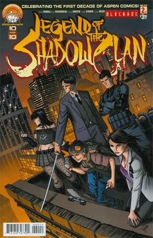 Legend Of The Shadow Clan #2 Regular Direct Market Cover