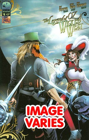 DO NOT USE Legend Of Oz The Wicked West Vol 2 #6 (Filled Randomly With 1 Of 2 Covers)