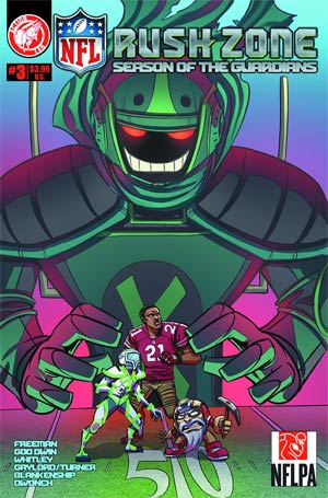 NFL Rush Zone Season Of The Guardians #3