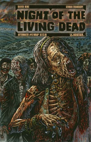 Night Of The Living Dead Aftermath #6 Wrap Cvr