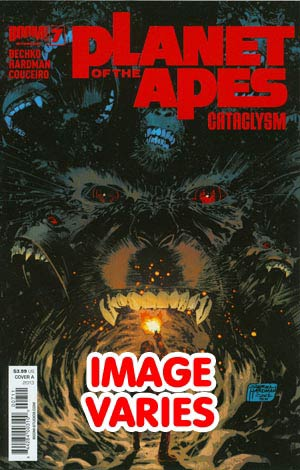DO NOT USE Planet Of The Apes Cataclysm #7 Regular Cover (Filled Randomly With 1 Of 2 Covers)