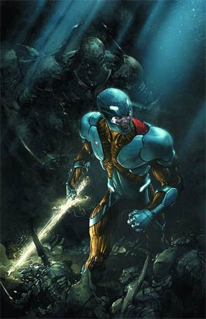 X-O Manowar Vol 3 #11 Regular Clayton Crain Cover