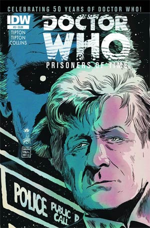 Doctor Who Prisoners Of Time #3 1st Ptg Regular Francesco Francavilla Cover
