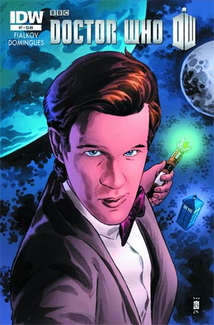 Doctor Who Vol 5 #7 Regular Mark Buckingham Cover