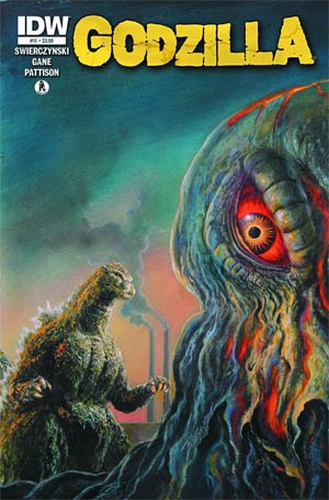 Godzilla Vol 2 #11 Regular Bob Eggleton Cover