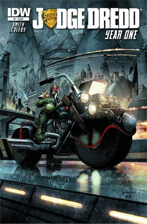 Judge Dredd Year One #1 Regular Greg Staples Cover