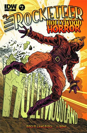 Rocketeer Hollywood Horror #2 Regular Walter Simonson Cover