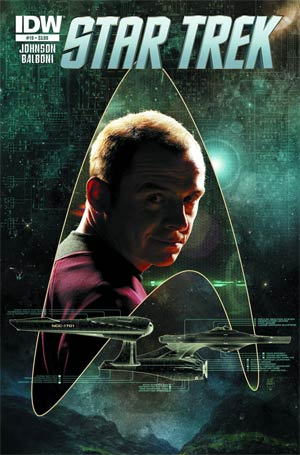 Star Trek (IDW) #19 Regular Tim Bradstreet Cover