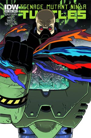 Teenage Mutant Ninja Turtles Vol 5 #20 1st Ptg Regular Cover (Filled Randomly With 1 Of 2 Covers)
