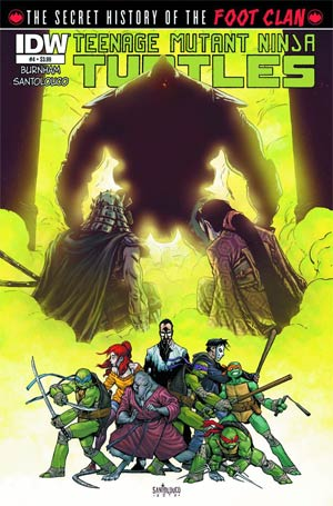 Teenage Mutant Ninja Turtles Secret History Of The Foot Clan #4 Regular Mateus Santolouco Cover