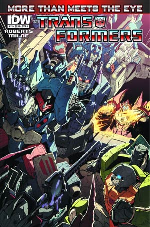 DO NOT USE Transformers More Than Meets The Eye #15 Regular Cover (Filled Randomly With 1 Of 2 Covers)