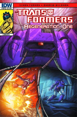 DO NOT USE Transformers Regeneration One #89 Regular Cover (Filled Randomly With 1 Of 2 Covers)