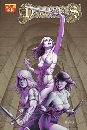 Damsels #7 Regular Joseph Michael Linsner Cover