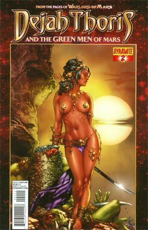 Dejah Thoris And The Green Men Of Mars #2 Regular Jay Anacleto Cover