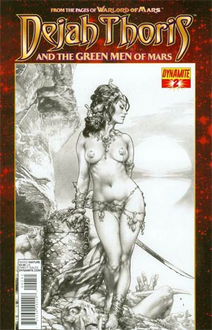 Dejah Thoris And The Green Men Of Mars #2 Variant Jay Anacleto Subscription Cover