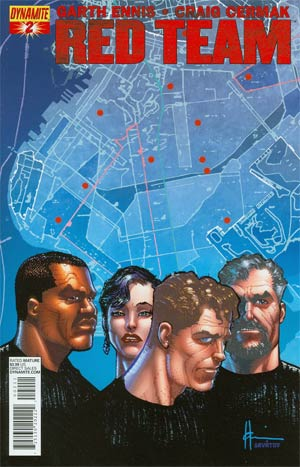 Garth Ennis Red Team #2