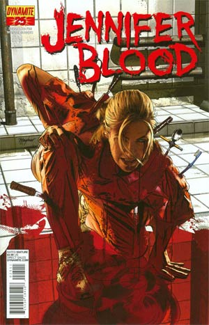 Garth Ennis Jennifer Blood #25 Regular Mike Mayhew Cover