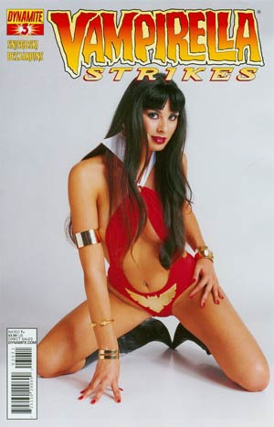 Vampirella Strikes Vol 2 #3 Variant Photo Subscription Cover
