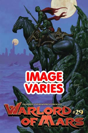 Warlord Of Mars #29 Regular Cover (Filled Randomly With 1 Of 2 Covers)