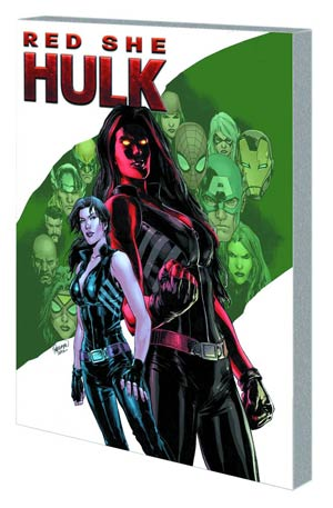 Red She-Hulk Vol 1 Hell Hath No Fury TP